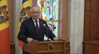 Igor Dodon vorbește despre posibile scenarii pe arena politică din Republica Moldova