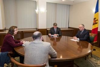 Șeful statului a avut o întrevedere cu Ambasadorul Germaniei
