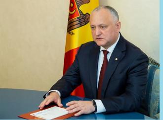 Igor Dodon: În perioada de criză, exporturile în CSI se mențin, iar cele spre UE au scăzut