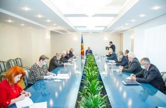 Președintele Igor Dodon s-a întâlnit cu un grup de medici-savanți pentru a discuta soluții în lupta cu pandemia COVID-19