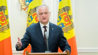 Președintele țării spune că numărul persoanelor infectate de COVID-19 în Moldova este mult mai mic, decât s-a prognozat