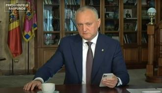 Igor Dodon: La rectificarea Bugetului - 2020, Guvernul a exclus 1 miliard de lei, care urmau să vină din UE
