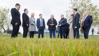 Igor Dodon, la întrevederea cu fermierii din Găgăuzia: Autoritățile fac tot posibilul pentru a asigura securitatea alimentară a țării