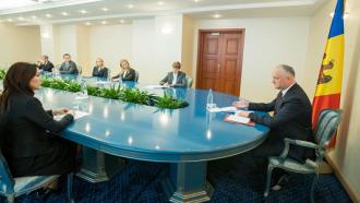 Președintele țării a avut o ședință de lucru cu investitorii străini din Moldova