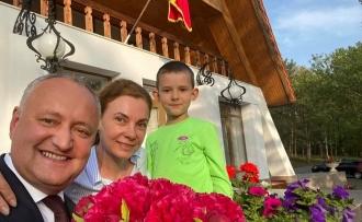 Igor Dodon: Familia este ceea ce te face mai puternic