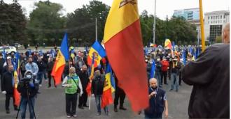S-au deconspirat? Critica la adresa lui Ilan Șor, interzisă la protestul din PMAN