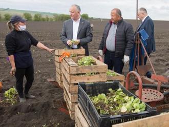 Președintele țării a discutat cu fermierii din nordul țării