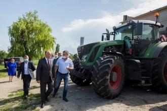 Igor Dodon, la Dondușeni: I-am asigurat că autoritățile țării depun toate eforturile pentru a susține sectorul agricol autohton