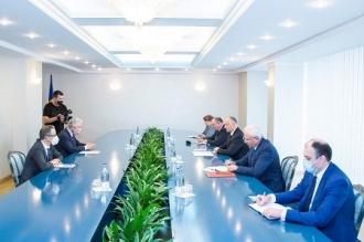 Igor Dodon s-a întâlnit cu reprezentantul OSCE pentru procesul de reglementare transnistreană, Thomas Mayr-Harting