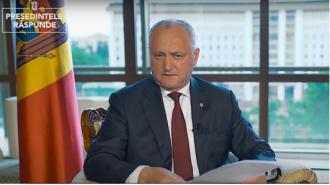 Igor Dodon a demascat planul lui Plahotniuc: Vor vota cu PAS și PPDA să dea jos Guvernul Chicu, pe urmă vor veni la noi să dăm jos Guvernul PAS-PPDA