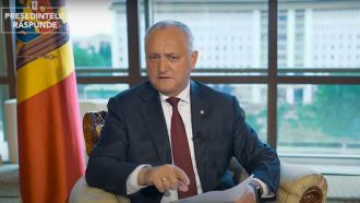 Igor Dodon: Cât voi fi președintele țării, nu voi admite ca Plahotniuc să captureze din nou instituțiile statului