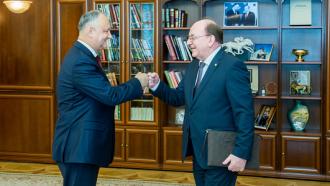 Igor Dodon a avut o întrevedere cu ambasadorul Federației Ruse