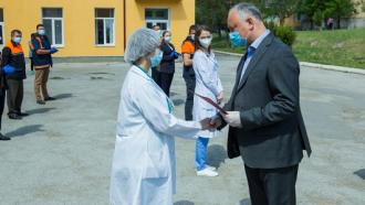 Mesajul președintelui Igor Dodon de Ziua lucrătorului medical