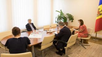 Președintele fracțiunii PSRM, Corneliu Furculiță, a discutat cu ambasadorii Germaniei și Franței despre situația politică din țară