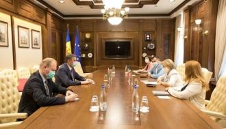 Președintele Parlamentului a discutat cu noul Ambasador al Republicii Belarus la Chișinău