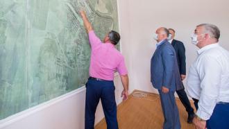 Igor Dodon a discutat cu administrația raionului Dubăsari proiectele investiționale, care vor fi continuate în regiune