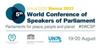 Zinaida Greceanîi va participa la Cea de-a cincea Conferință mondială a Președinților de Parlament