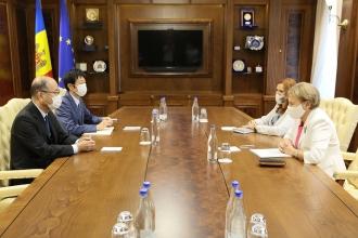 Zinaida Greceanîi s-a întîlnit cu ambasadorul Japoniei