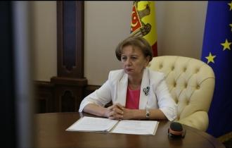 La Conferința mondială a speakerilor,  Zinaida Greceanîi a ținut un discurs în problema mobilității umane