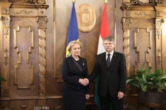 Zinaida Greceanîi a adresat Președintelui Adunării Naționale a Ungariei un mesaj de felicitare cu ocazia Zilei Naționale a acestei țări