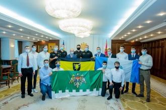 Președintele Igor Dodon s-a întâlnit cu cele mai puternice echipe de volei masculin din Republica Moldova