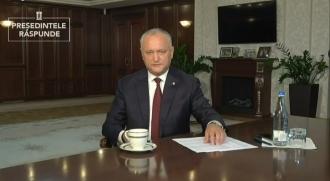 Igor Dodon a îndemnat cetățenii să-i adreseze întrebări provocatoare