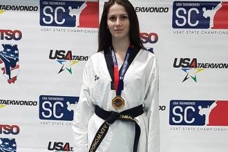 Sportul în R.Moldova are viitor datorită susținerii din partea lui Igor Dodon, a declarat campioana la taekwondo Tatiana Țîmbalari