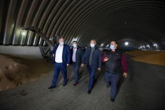 Agricultorii din Ștefan Vodă i-am mulțumit președintelui pentru suportul acordat de stat pe timp de secetă