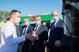 Ion Chicu susține că Guvernul vrea să modernizeze agricultura din Moldova, pentru ca și tinerii să fie atrași de această ramură