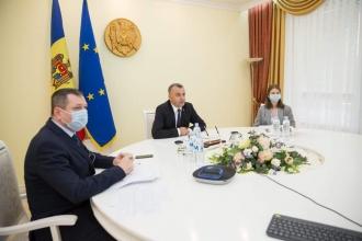 Ion Chicu i-a informat pe reprezentanții FMI că Guvernul a pregătit un set de măsuri de susținere a mediului de afaceri