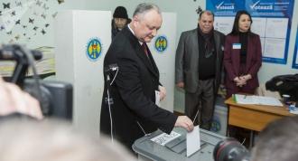 Igor Dodon către alegători: Dumneavoastră alegeți fie pacea și stabilitatea, fie conflictele și incertitudinea