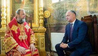 Igor Dodon: Eu nu sunt împotriva predării Religiei în școală