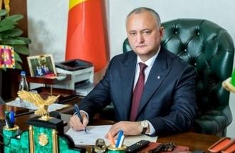 Igor Dodon a anunțat o agendă plină până la încheierea mandatului în funcția de șef al statului