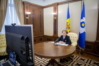 Zinaida Greceanîi, a participat la ședința Consiliului Adunării Interparlamentare a CSI