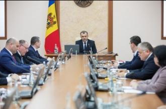 Guvernul Chicu se întrunește azi în ședință: Pe ordinea de zi sunt Bugetul și Politica bugetar-fiscală