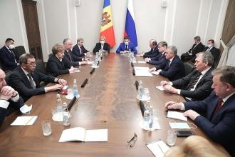 Igor Dodon și Zinaida Greceanîi s-au întâlnit cu președintele Dumei de Stat a Federației Ruse