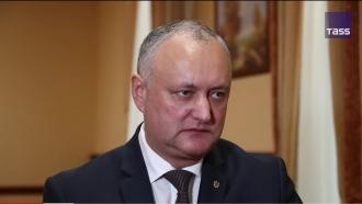 Occidentul a investit mult pentru ca Sandu să devină Președinte și va veni timpul când aceasta va trebui să achite nota de plată, spune Igor Dodon