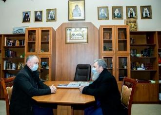 Igor Dodon: Republica Moldova trebuie să rămână parte a lumii ortodoxe