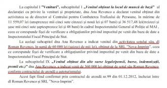 DOC: Scheme dubioase, puse la cale de familia consilierului prezidențial, Ana Revenco: Își dădea mașina în chirie la propria firmă cu 2 mii euro lunar