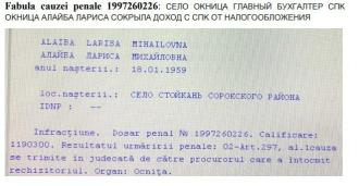 Mama deputatului PAS, Dumitru Alaiba, a fost condamnată penal