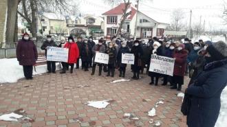 Manifestație în sprijinul limbii ruse