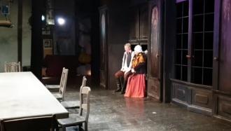 """Spectacol pe scena Teatrului """"Cehov"""""""