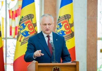Igor Dodon: Pe 23 februarie vom afla dacă Republica Moldova se poate transforma într-un stat prezidențial doar în baza deciziei CC