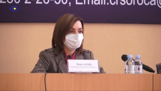 Maia Sandu a dat afară jurnaliștii de la întrevedea cu medicii din Soroca: Oamenii se simt intimidați de prezența dvs