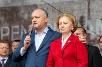Greceanîi l-a felicitat pe Igor Dodon cu ocazia zilei de naștere