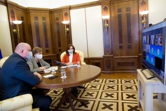 Zinaida Greceanîi a discutat cu raportorii Comisiei de la Veneția