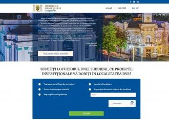 Un nou site pentru suburbiile Capitalei
