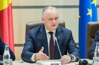 Igor Dodon a prezentat poziția Comisiei de la Veneția despre rolul președintelui țării la deblocarea crizei politice