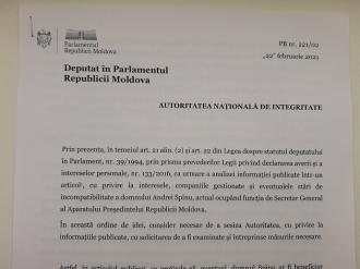 """""""Secretarul offshore"""" din nou în vizorul ANI și a procurorilor. Un deputat PSRM a sesizat organele competente"""
