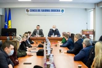 Igor Dodon întreprinde o vizită în raionul Drochia